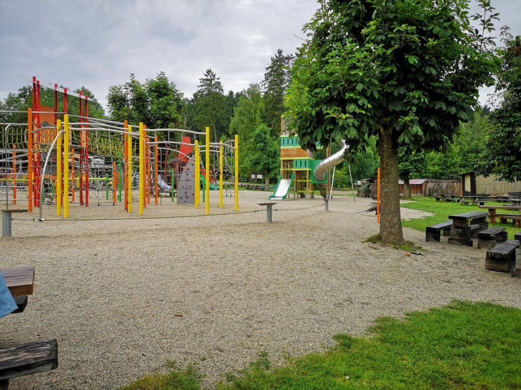 Kletterspielplatz im Wildpark Poing