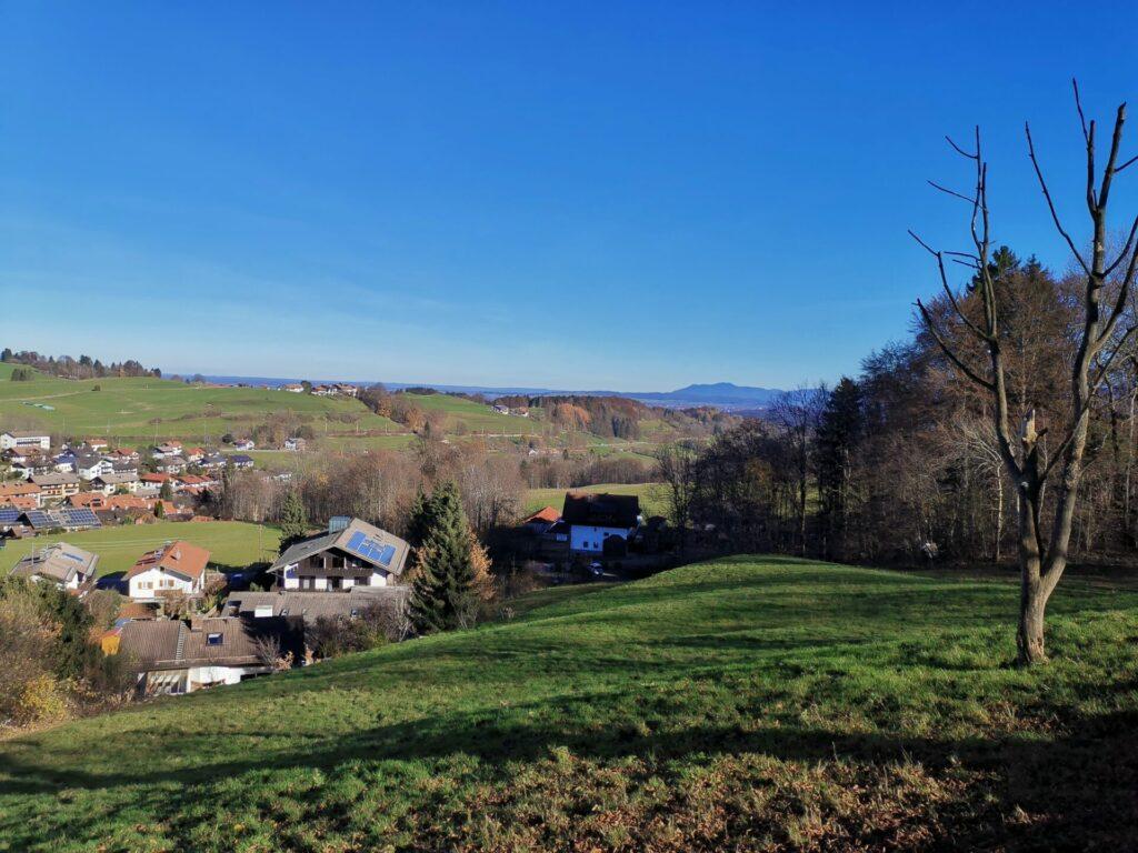 Bad Kohlgrub - Blick Richtung Staffelsee