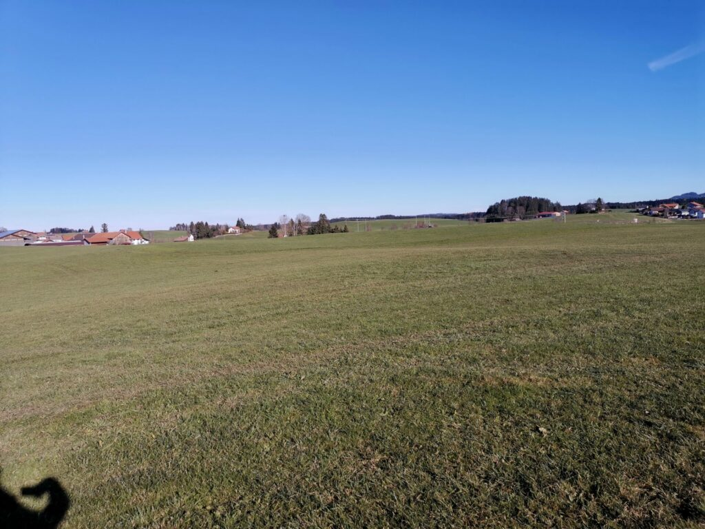 Mühlenweg in Lengenwang
