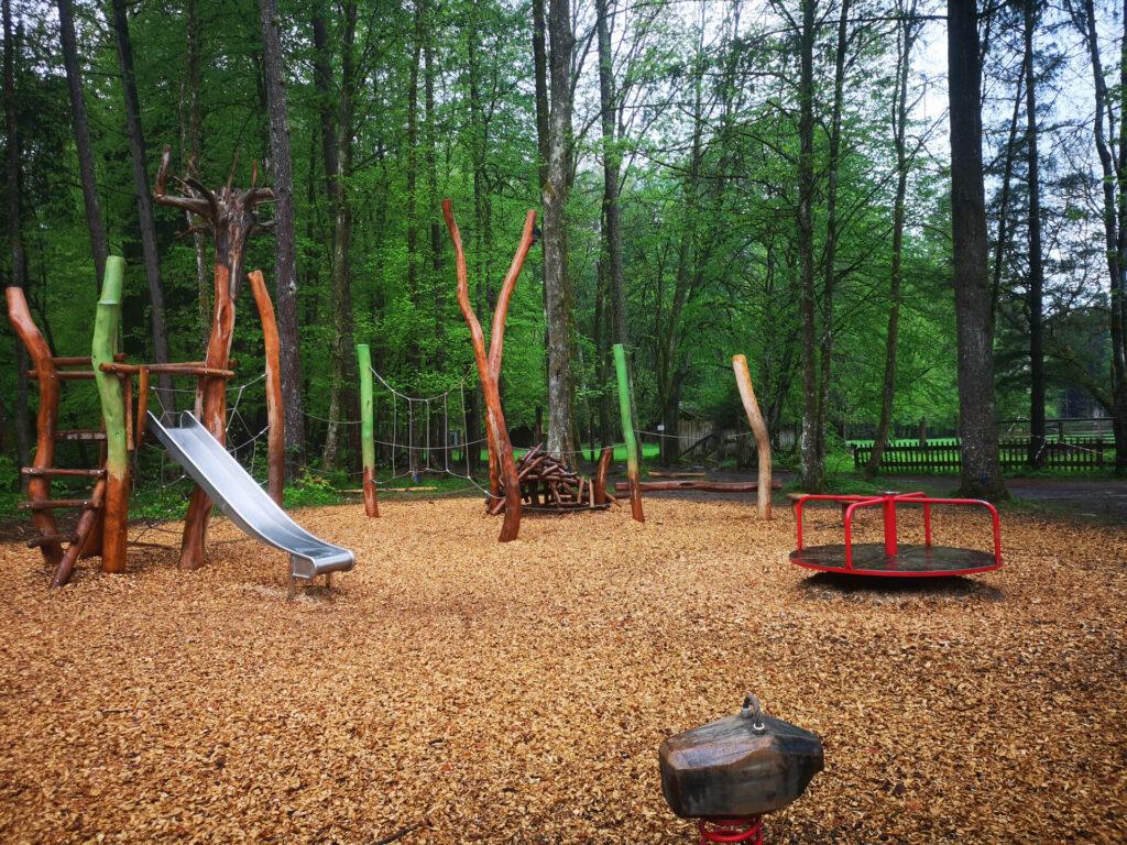 Spielplatz im Hohenlindener Sauschütt