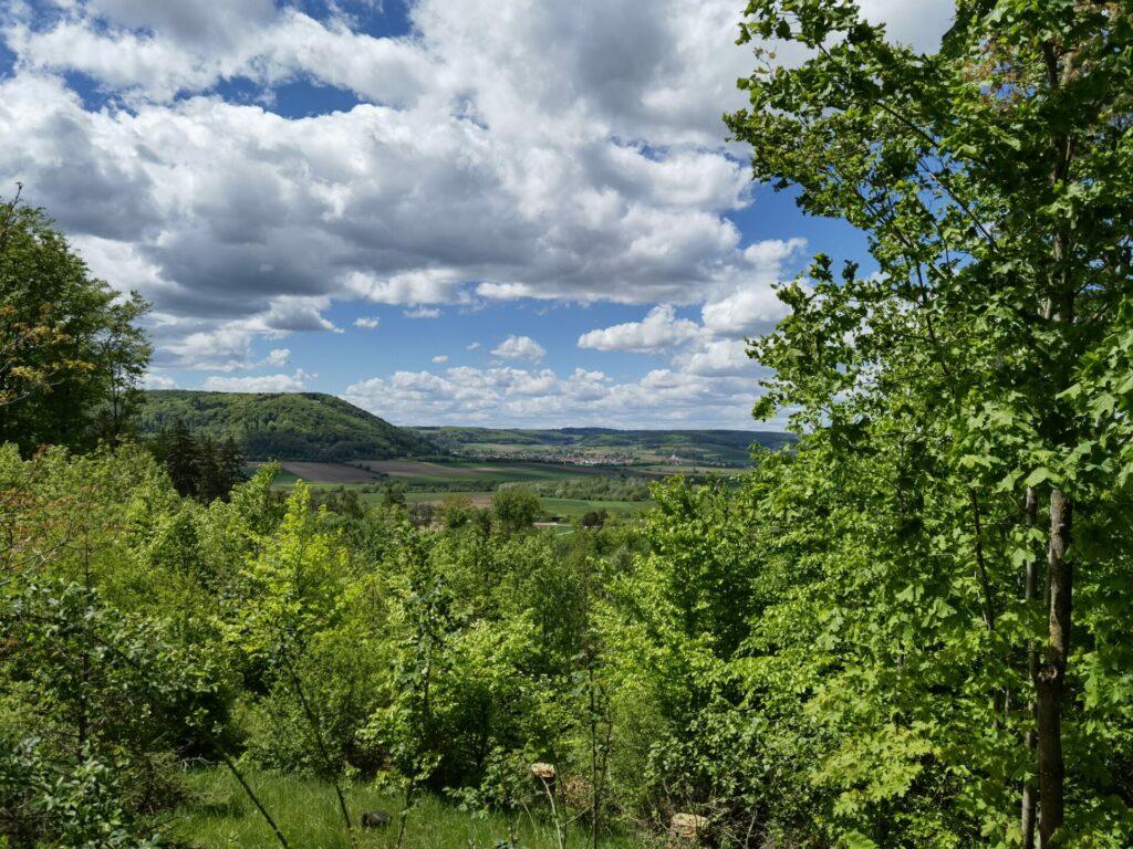 Blick vom Nagelsberg in Treuchtlingen Richtung Graben