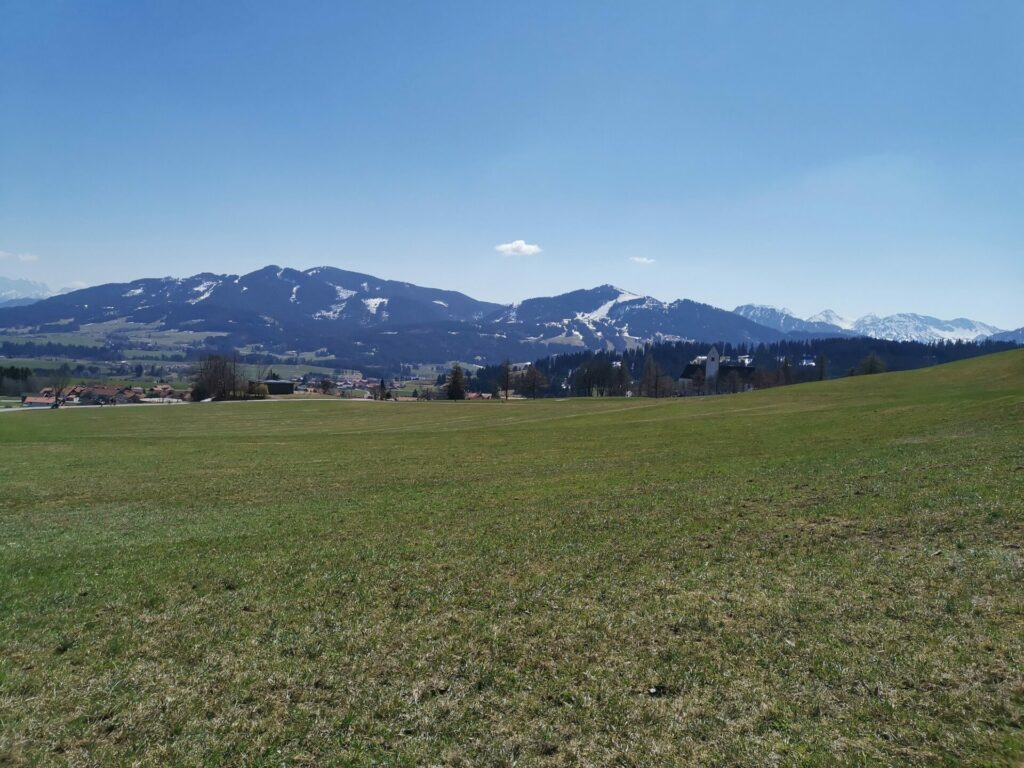 Ausblick vom Panoramaweg in Oy-Mittelberg