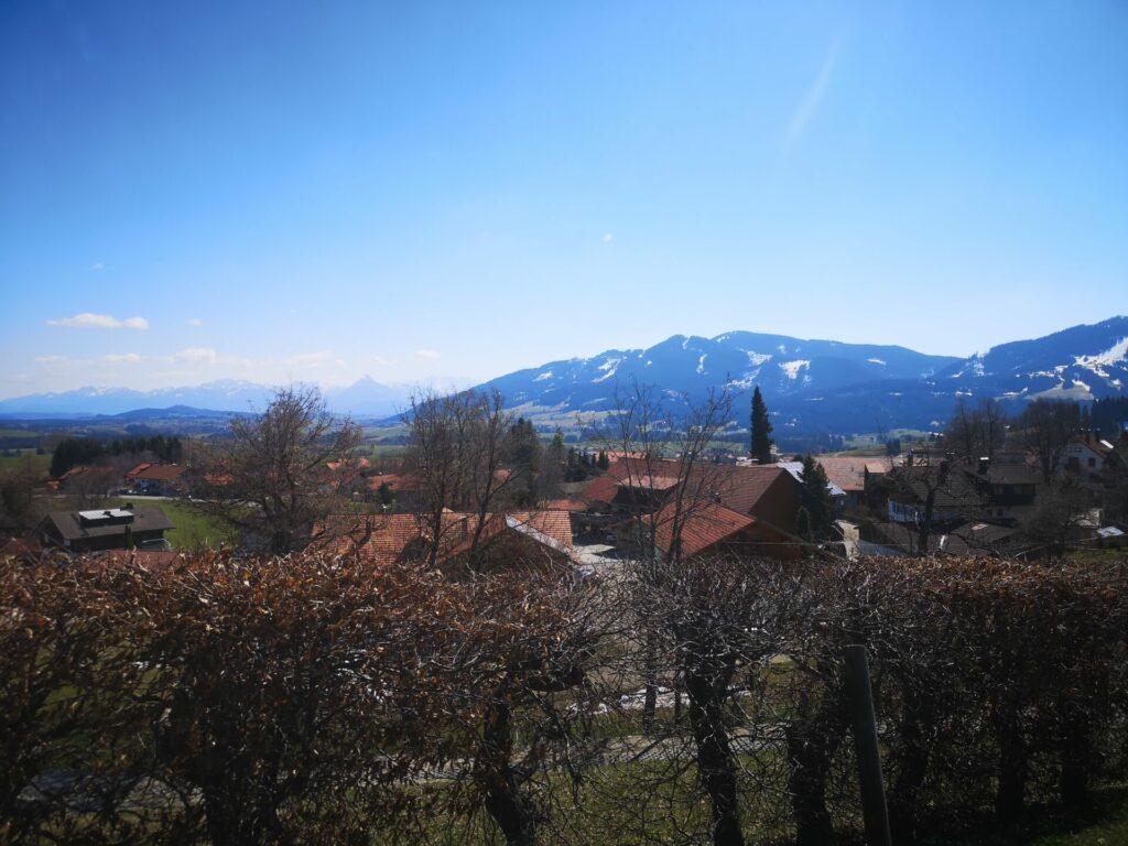 Ausblick auf Mittelberg