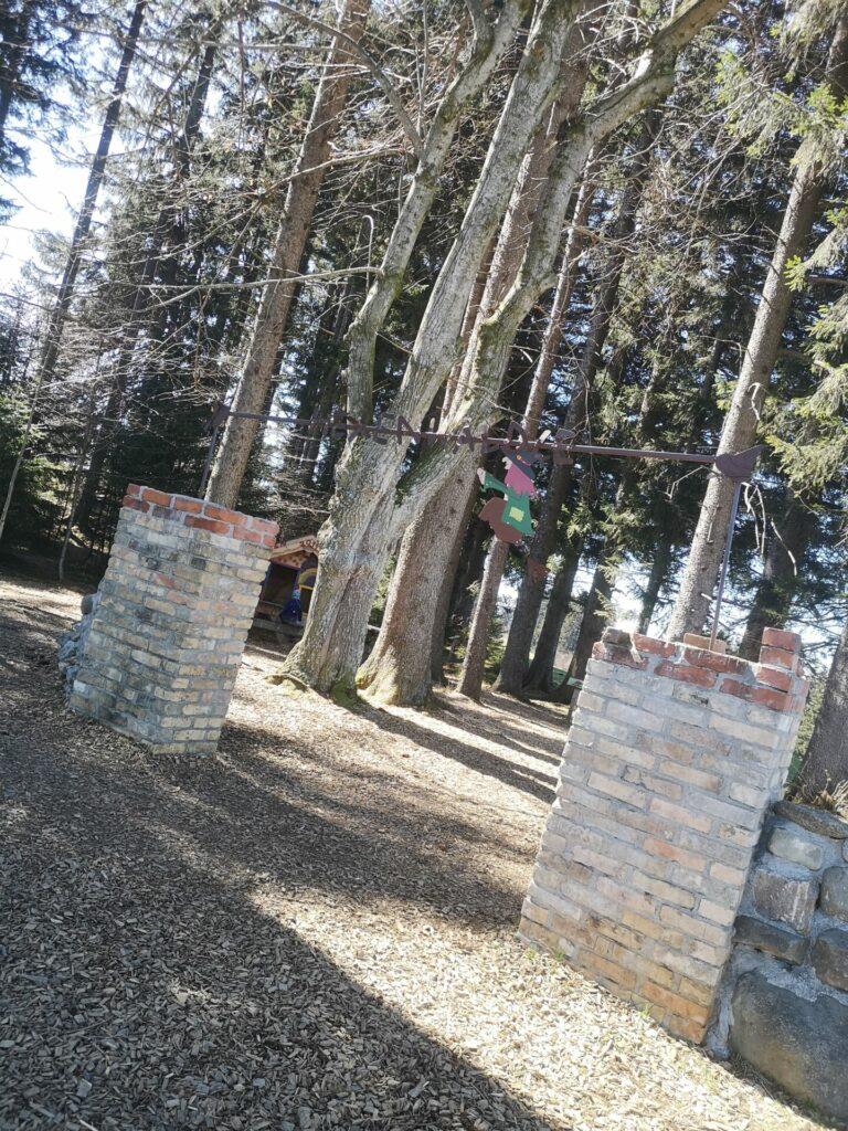 Hexenwälde am Panoramaweg in Mittelberg