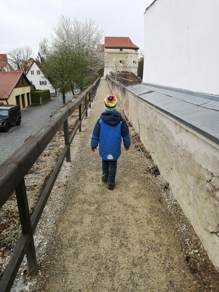Stadtmauerrundgang Nördlingen (2)