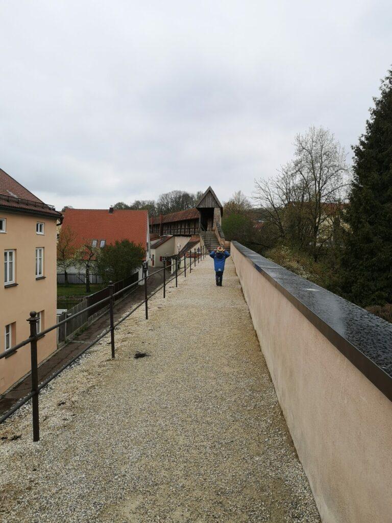 Stadtmauerrundgang Nördlingen