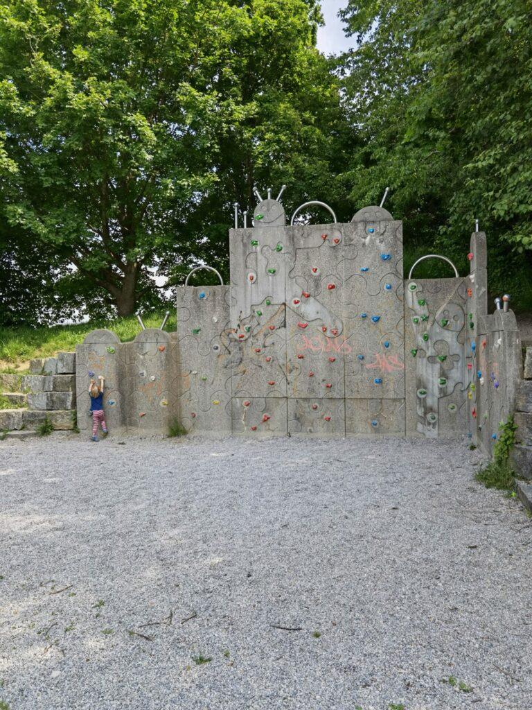 Kletterwand - Ostpark in Bad Wörishofen